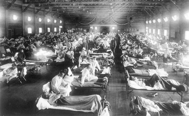 """חיילי צבא ארה""""ב מאושפזים בבית חולים בקנזס בשל השפע"""