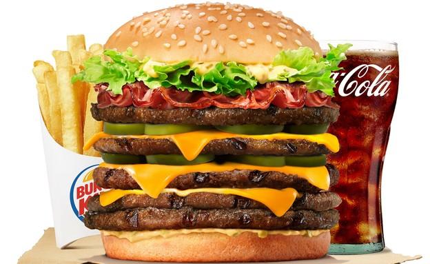 המבורגרים מוגזמים, ברגר קינכ (צילום: יחסי ציבור)