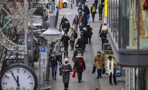 נכנסת לסגר (צילום: ODD ANDERSEN, AFP)