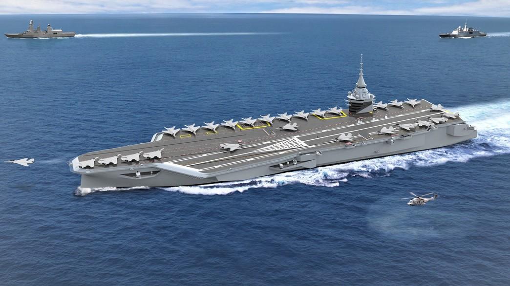 הדמיית הספינה (צילום: navalgroup, Twitter)