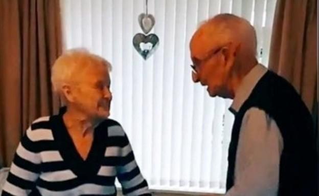 ג'וזף וסילביה בני השמונים בטיקטוק