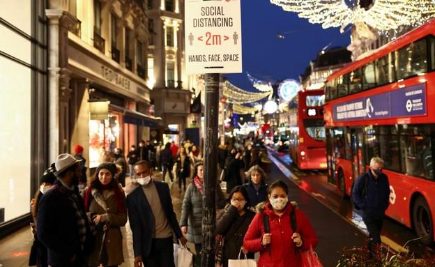 הימים שלפני ההגבלות החדשות, לונדון (צילום: רויטרס)