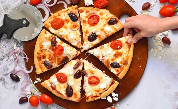 פיצה מוכנה (צילום: רות אופק, אוכל טוב)