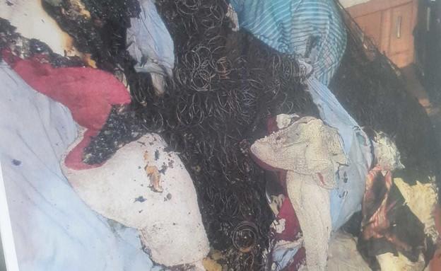 חדר הילדים של האם שניסתה להרעיל את ילדיה (צילום: משטרת ישראל)