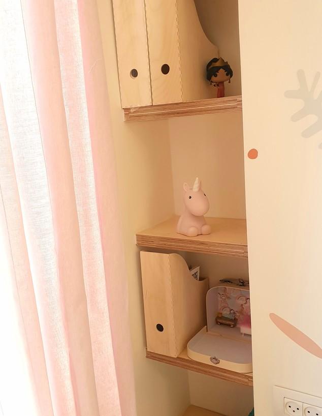 חדר ילדה, עיצוב קרן בריטהולץ (צילום: קרן שחר)