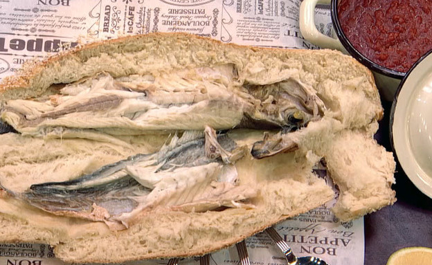 """דג בלחם (צילום: מתוך """"מאסטר שף"""", קשת 12)"""