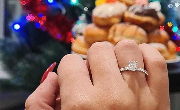 הצעת נישואים סופגניות  (צילום: עצמי)