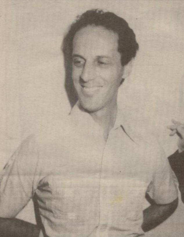 יונתן דנילוביץ בשנות השבעים (צילום: אלבום פרטי)