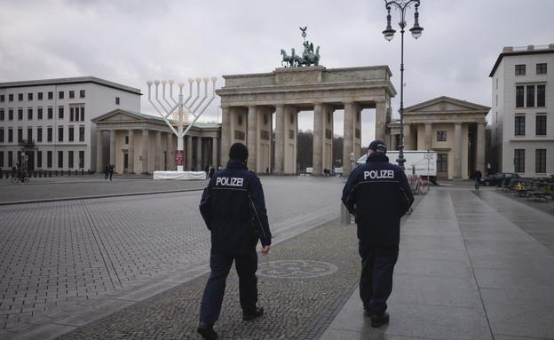 סגר כללי בגרמניה (צילום: Markus Schreiber, AP)
