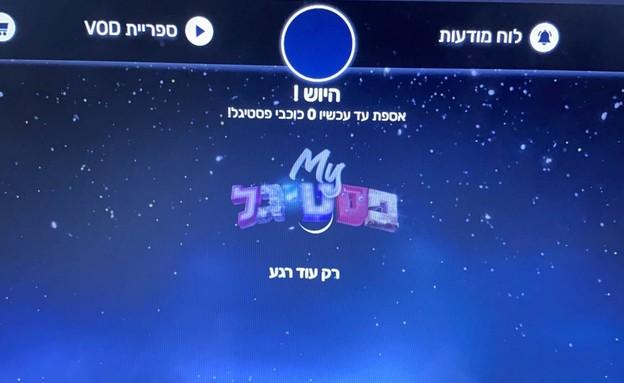 האתר של הפסטיגל קרס דקות לפני השידור