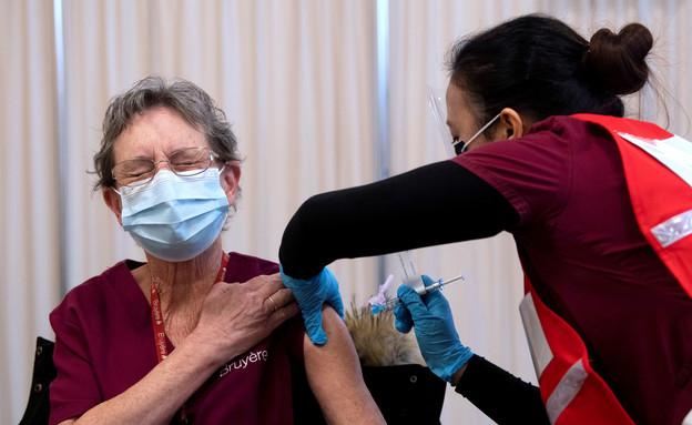 חיסון, התחסנות, קורונה, חיסונים (צילום: רויטרס)