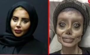 אנג'לינה ג'ולי האיראנית בראיון ראשון אחרי שחרורה (צילום: rokna.news, instagram)