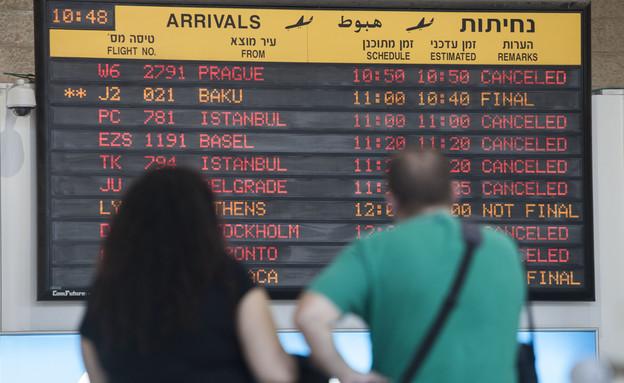 """נתב""""ג, שדה תעופה, נמל תעופה, טיסות, טיסה (צילום: AP)"""