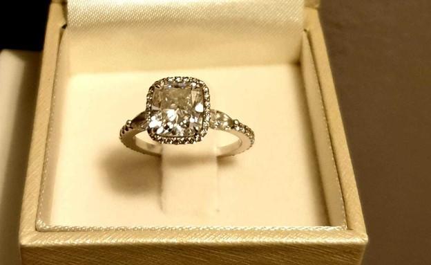 טבעת הנישואים של מאיה בוסקילה (צילום: פרטי)