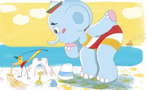 טוטו הפיל  (איור: אורית ברגמן)