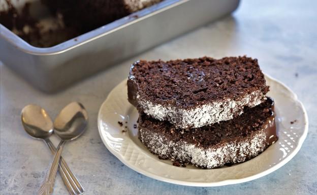 עוגת שוקולד קוקוס שמשפרת כל מצב רוח (צילום: קרן אגם, אוכל טוב)