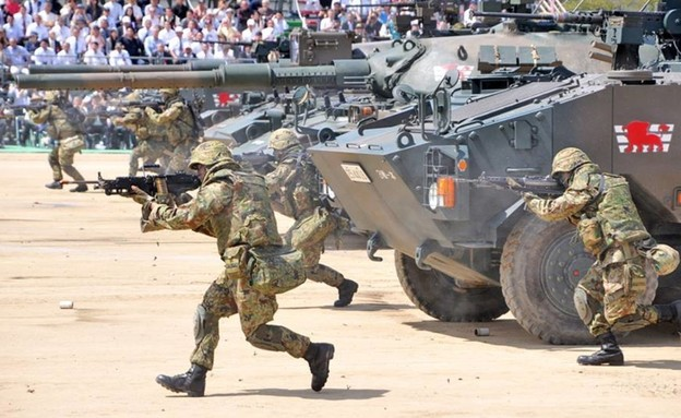 חייל זר (צילום: japan army)