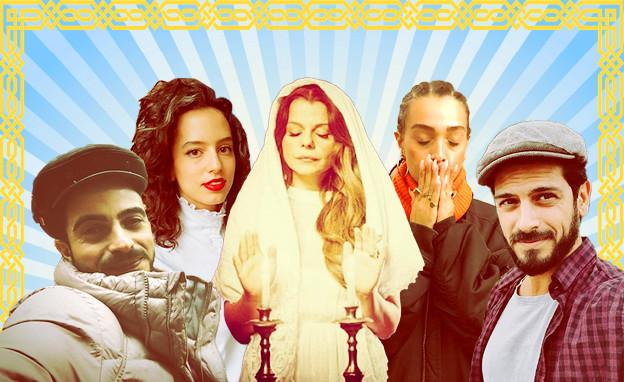 הדתה בעולם הבידור (צילום: אינסטגרם/אלעד בורנשטיין יחסי ציבור)