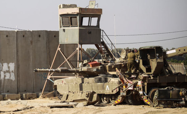 בסיס צבאי בדרום (ארכיון) (צילום: FLASH 90, הדס פרוש, חדשות)