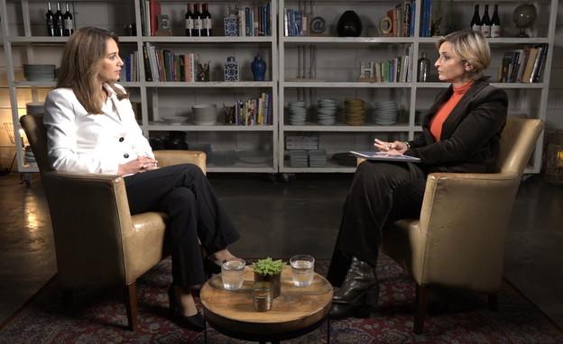 """ח""""כ יפעת שאשא ביטון בראיון לדנה וייס (צילום: חדשות 12)"""