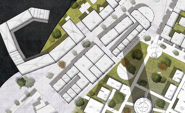 פרויקט נצרת (הדמיה: אליאס מויס, מחלקת אדריכלות במרכז האקדמי ויצו חיפה)