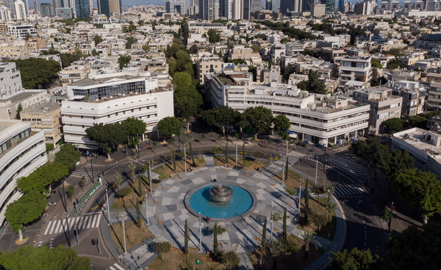 סגר קורונה בישראל (צילום: GUY PRIVES, getty images)