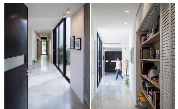 מסדרונות, עיצוב יוני פרידמן (צילום: טל ניסים)
