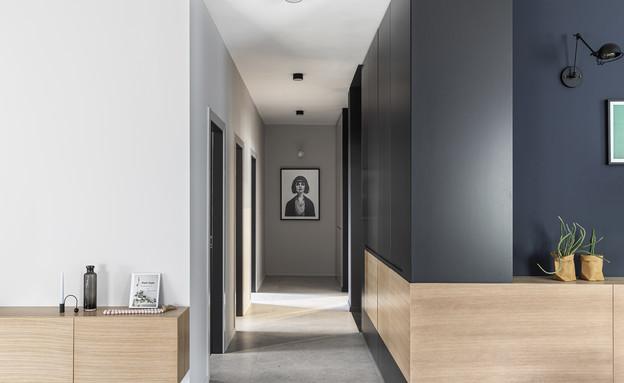 מסדרונות, עיצוב כרמית גת בוצר, ראש העין (צילום: איתי בנית)