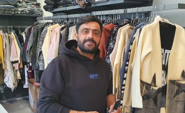 בני, מנהל חנות בגדי נשים בדרך יפו, שייאלץ לסגור אותה בסגר