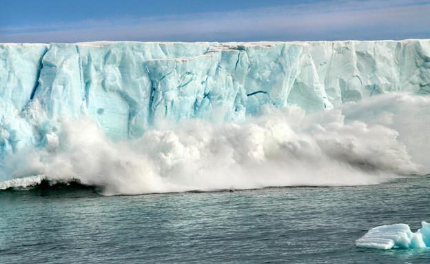 התחממות גלובלית, המסת קרחונים (צילום: Netta Arobas, shutterstock)