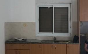 דירה בטבריה, עיצוב שני איצקוביץ, ג, לפני שיפוץ - 2 (צילום: שני איצקוביץ)