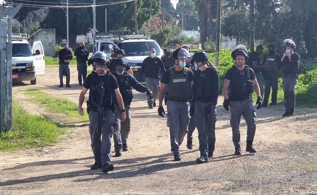 כוחות משטרה בלוד