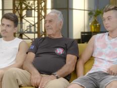 עומר מאיר וסאן הנובר מתכוננים לחצי הגמר (צילום: מתוך