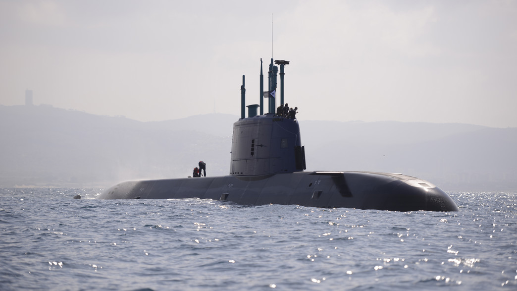"""צוללת חיל הים (צילום: אתר צה""""ל)"""