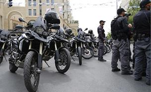 הערכות שוטרים בירושלים  (צילום: דוברות המשטרה)