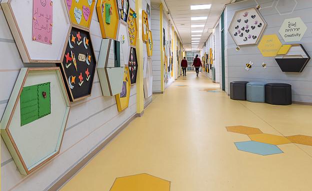 מסדרונות, עיצוב עידית אבו (צילום: דקל אבו)