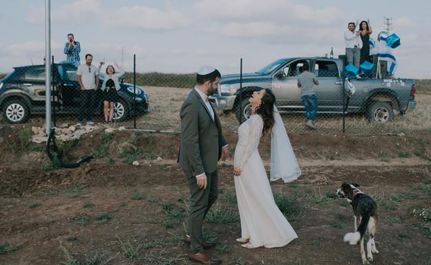 חתונה גל וליאור (צילום: studio AGS)