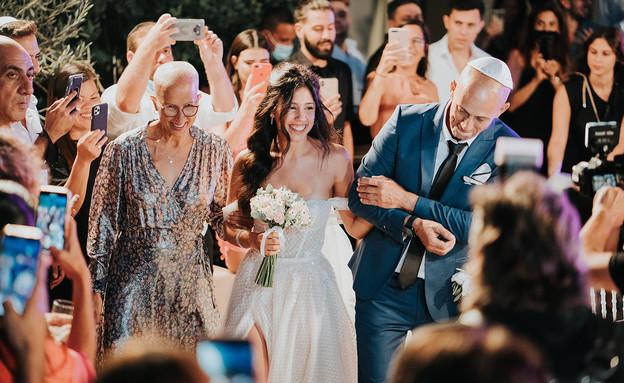 חתונה אבישג הררי (צילום: שי בוזגלו)
