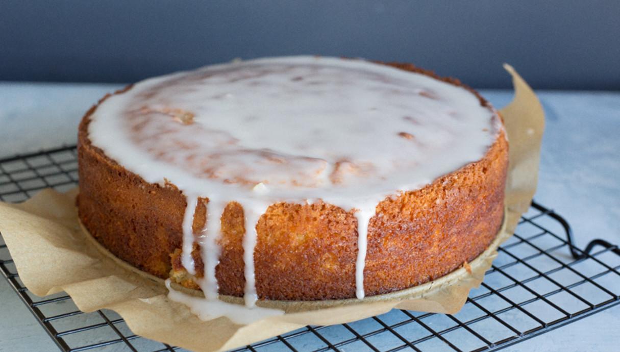 עוגת לימון ושקדים שלמה