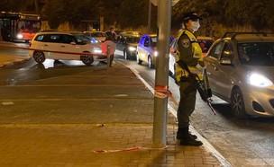 הכניסה לשכונת רמות בירושלים (צילום: החדשות 12)