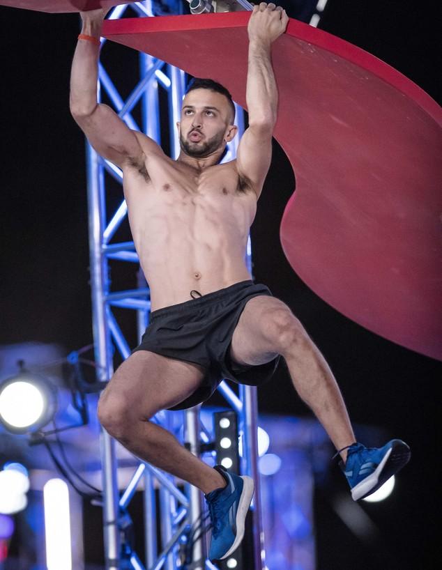 אלון דורון בחצי הגמר (צילום: עודד קרני)