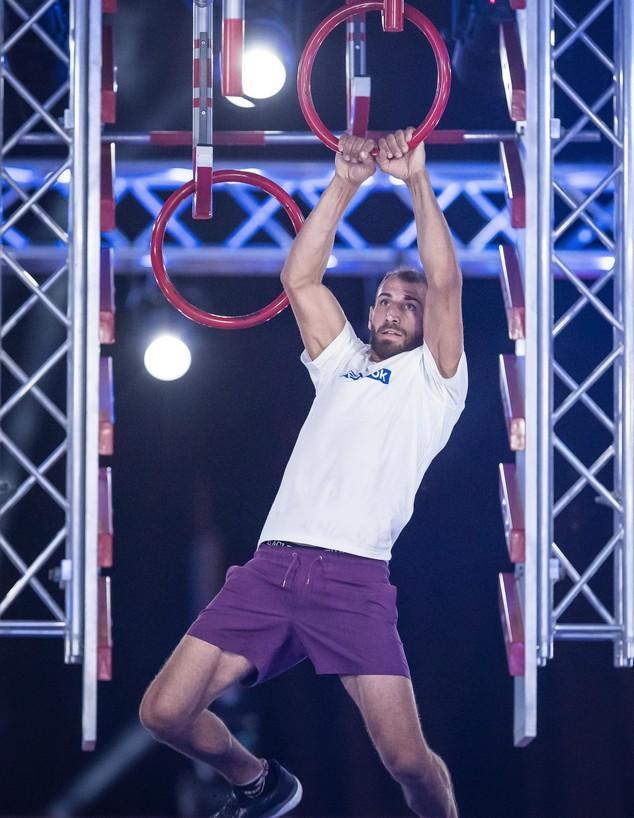 דוד בר נתן בחצי הגמר (צילום: עודד קרני)