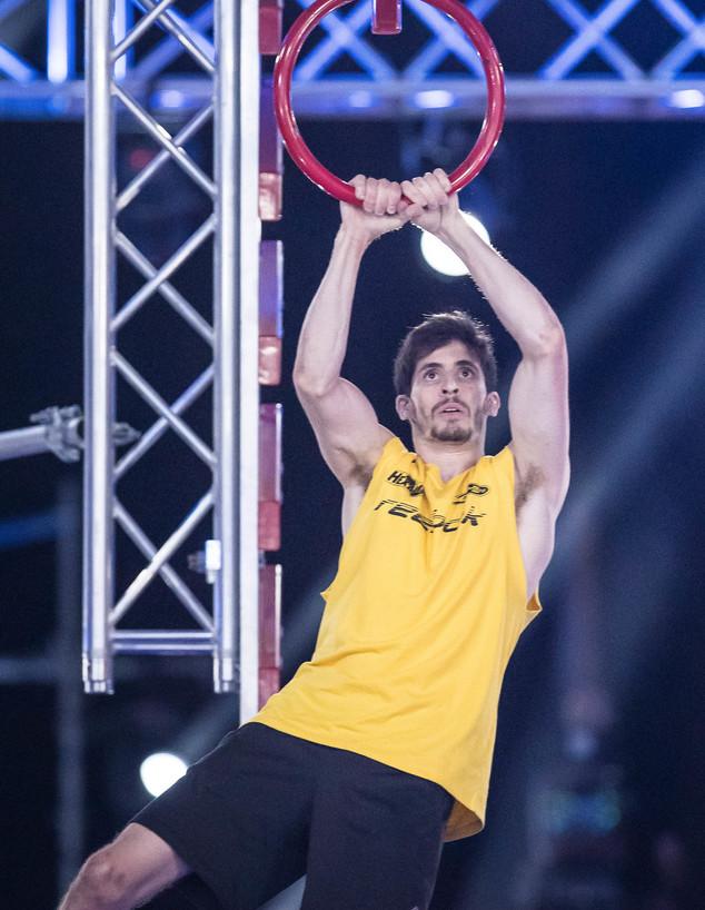 אלכס חזנוב בחצי הגמר (צילום: עודד קרני)