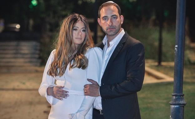 עמיר גולדברג התחתן (צילום: אונדריי אלמליח, פרטי)