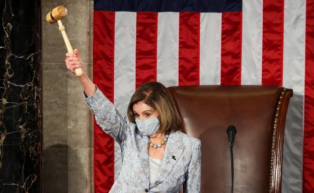 """יו""""ר בית הנבחרים האמריקני ננסי פלוסי (צילום: reuters)"""