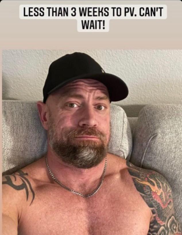 מייק שולץ, האח הגאה שנדבק בקורונה (צילום: instagram)