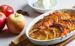 מאפה תפוחים - עומר מילר (צילום: עומר מילר)