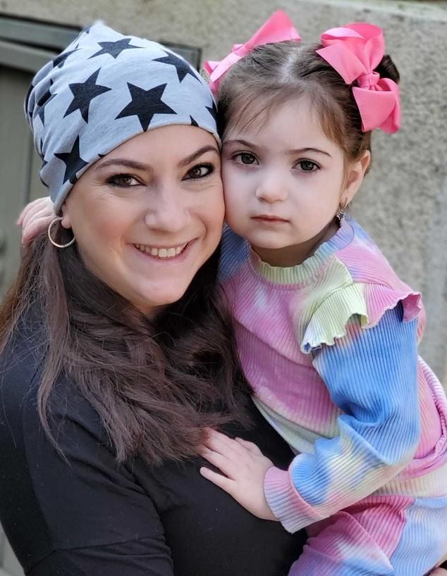 טלי וולגלרנטר ובתה שרינה (צילום: צילום ביתי)