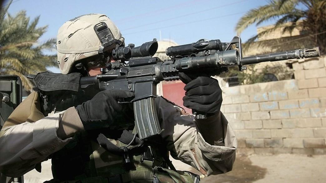 כוחות מיוחדים (צילום: Joe Raedle/Getty Images)