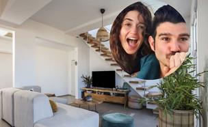 הבית החדש של מאור שוויצר וניב סולטן. ינואר 2021 (צילום: מתוך עמוד האינסטגרם @HOUSEIN.HOME, מתוך האינסטגרם של ניבר מדר)